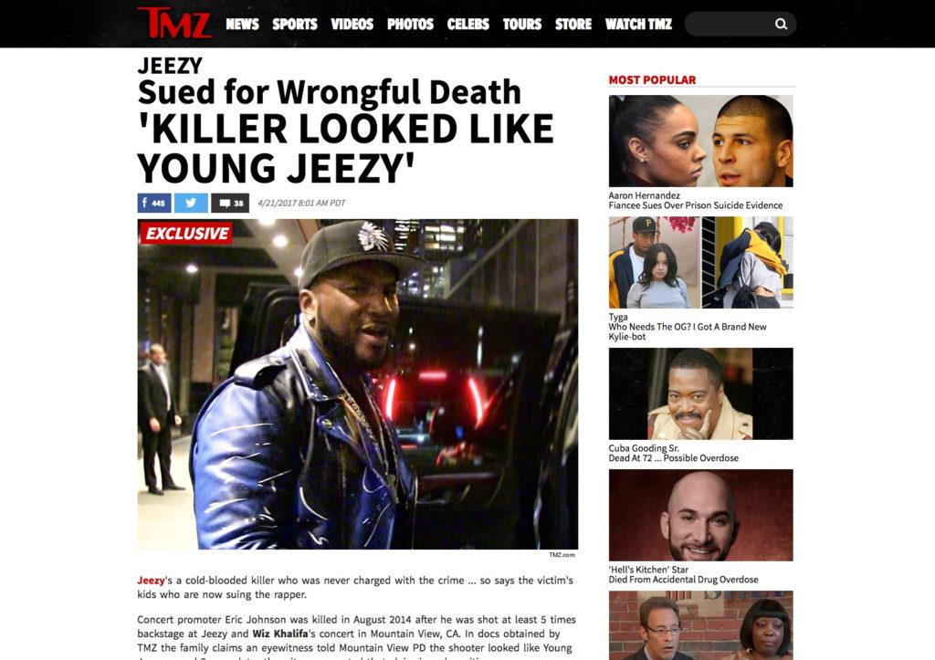 jeezy wrongful death lawsuit