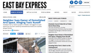 East Bay Express April 2018